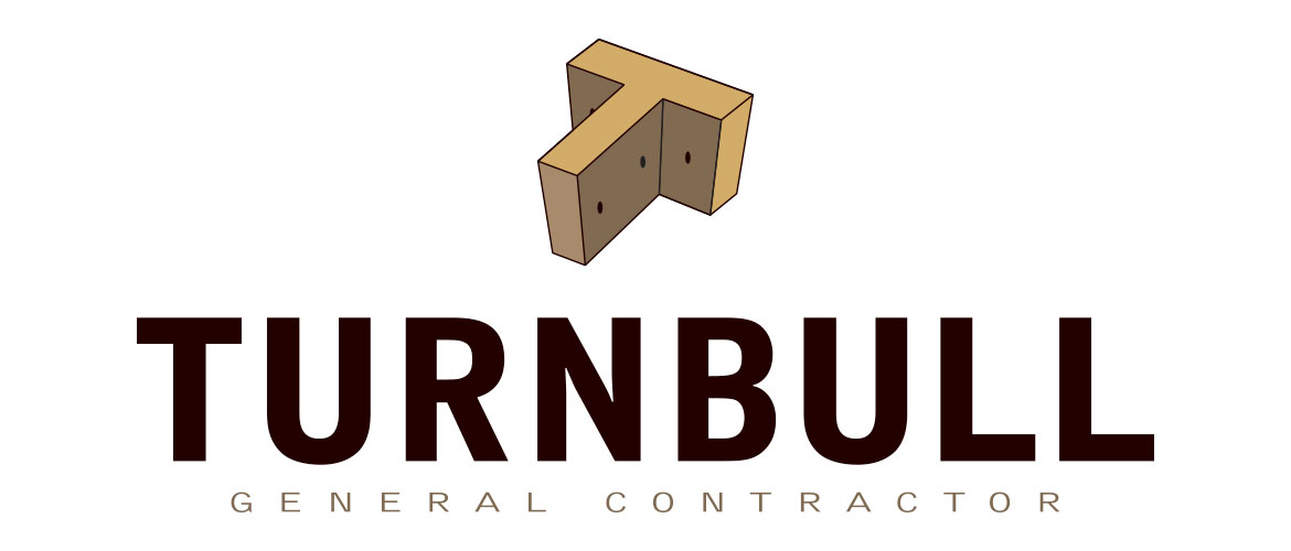 Turnbull contracting company logo design branding