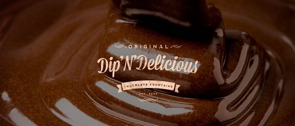 Dip'N'Delicious chocolate fountain