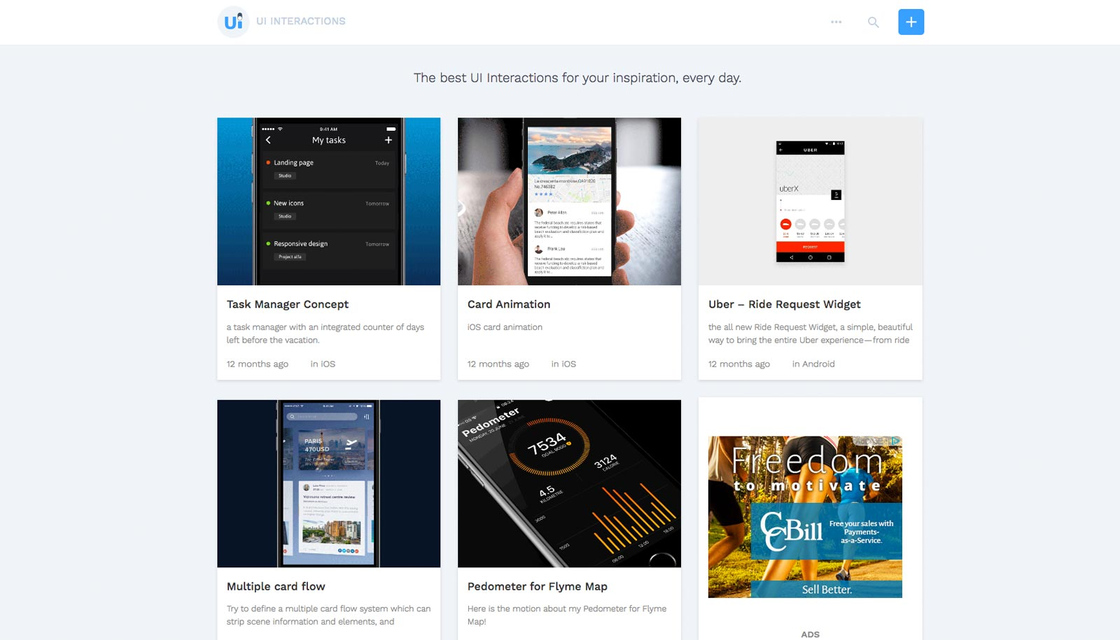 ui interactions inspiration